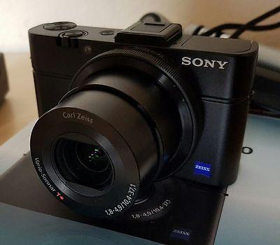 Sony Cyber-shot DSC-RX100 II (DSC-RX100M) 20.2 MP Digitalkamera - Schwarz - Neu!