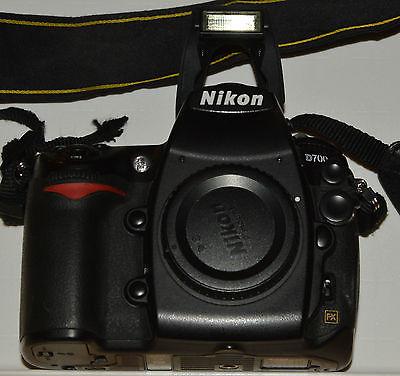 Nikon D D700 12.1MP Digitalkamera - Schwarz (Nur Gehäuse)