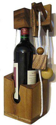 Flaschen Puzzle Break the Bottle Safe Tresor Schnur Puzzle Denkspiel Knobelspiel