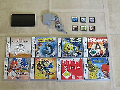 Nintendo 3DS 3 DS mit Zubehörpaket + 5 Gratis Spiele