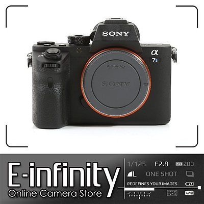 BRANDNEU Sony Alpha a7S II Mirrorless Digital Camera Body Only Mark II Mk2