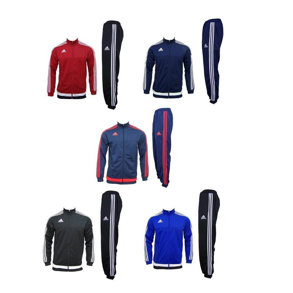 adidas Herren Trainingsanzug Sportanzug Jogginganzug Herrensportanzug Fußball