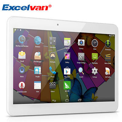 10,1'' 16GB HD Dual SIM/CAM 3G Android 4,4 DualCore WIFI GPS Bluetooth Tablet PC