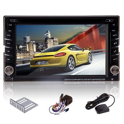 Doppel 2DIN 6,2Zoll Navigation  Bluetooth Autoradio GPS Navi Win8 USB MP3 DVD Pr