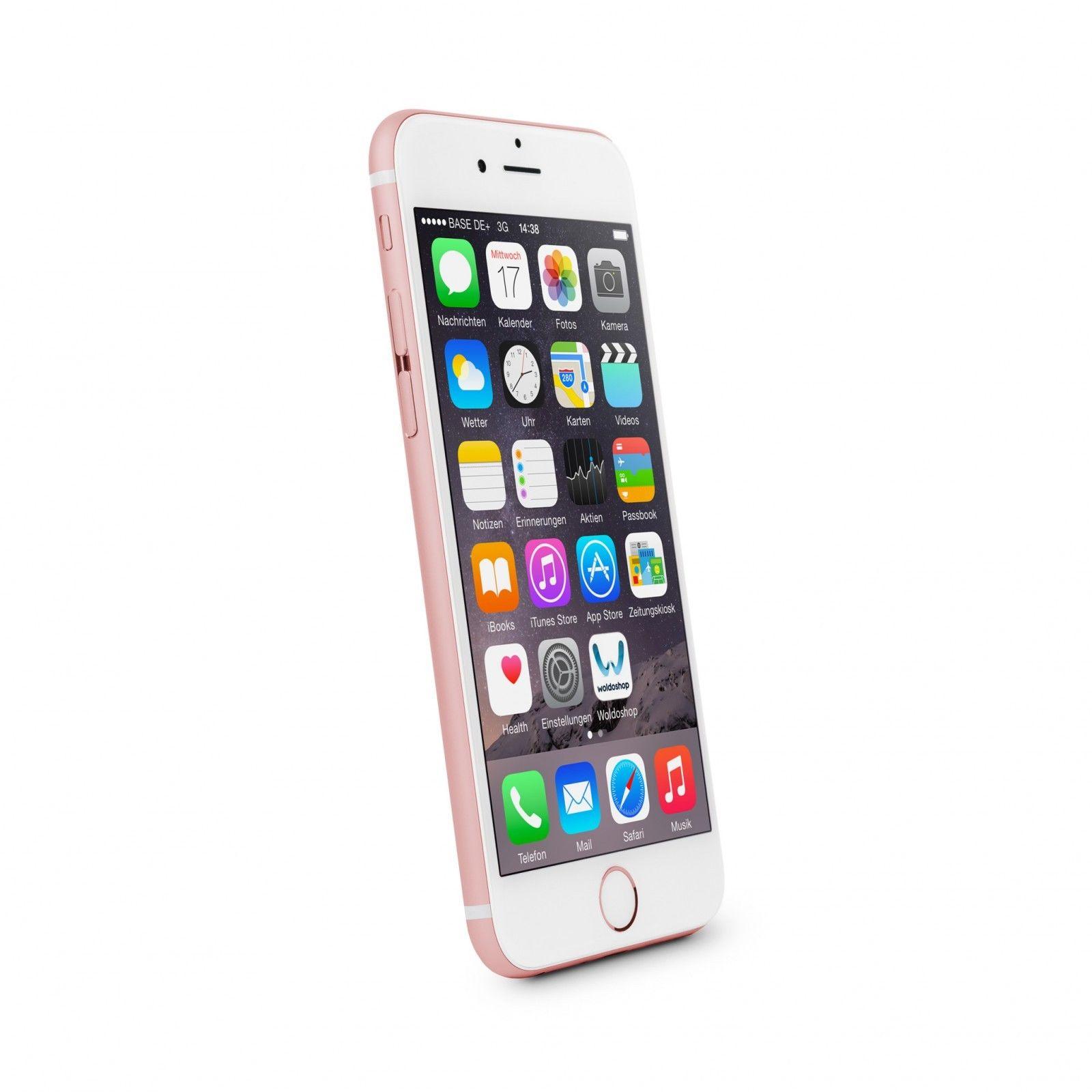 Apple iPhone 6s 16GB rosegold Ohne Simlock Ohne Vertrag Smartphone