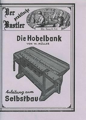 Wie baue ich mir selbst - eine Hobelbank ?? Bauanleitung NEU!! Holz Bank bauen