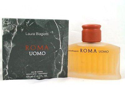 Laura Biagiotti Roma Uomo 125 ml Eau de Toilette Spray EDT