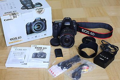 Canon EOS 6D Vollformat - Kit mit EF24-105 L IS USM OVP Top Zustand
