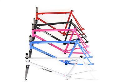 Fixed gear bike frame,Single speed bike frame, Hi-ten Steel, 1 year warranty.