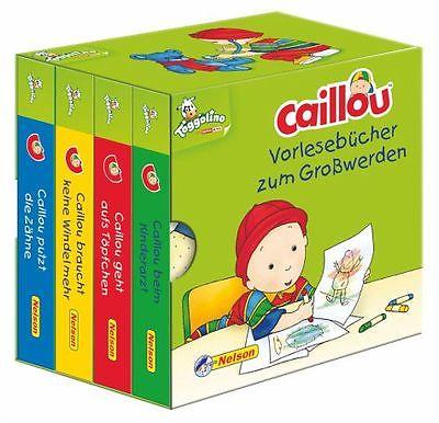 Caillou: Vorlesebücher zum Großwerden (Buch) NEU