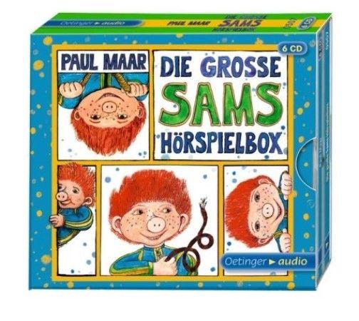+ Maar Paul : Die große Sams Hörspielbox  6er CD HörSpiel NEU
