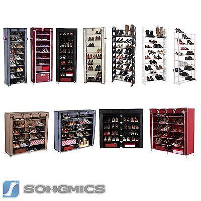 Songmics 7 / 10 Schicht Schuhschrank Schuhablage Schuhregal Schuhständer