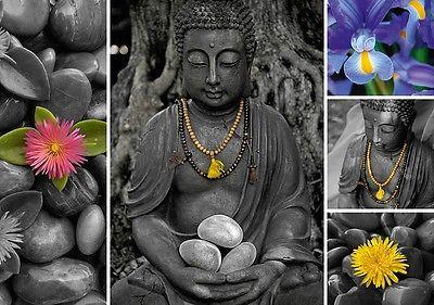 Puzzle Pappe Trefl 1000 Teile Buddha Collage - NEU 10321