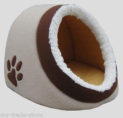 Pocky-Pet Katzenhöhle Hundehöhle Katzenbett Katze Hund Schlafplatz Katzenhütte