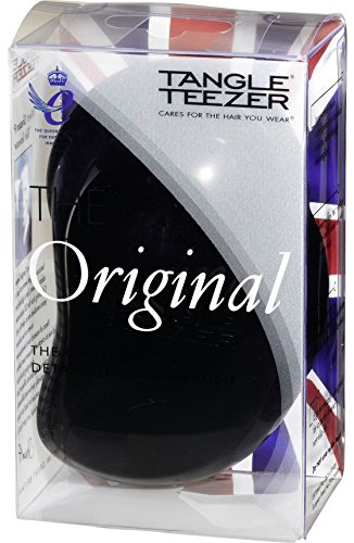 Tangle Teezer Original Haarbürste, Schwarz, 1er Pack (1 x 1 Stück)