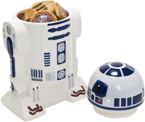 Star Wars Star147 - R2D2 3D Keksdose aus Keramik mit Deckel 27 x 15 cm