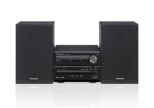 Panasonic Micro HiFi System SC-PM250EG-K (20 Watt RMS, CD, Radio UKW, Bluetooth) schwarz