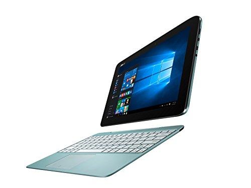 Asus T100HA-FU010T 25,7 cm (10,1 Zoll Glare Type) Convertible Notebook (Intel Atom x5-Z8500, 2GB RAM, 128GB eMMC, Intel HD, Win 10 Home) blau