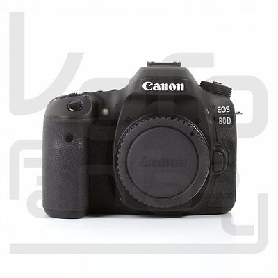 Neu NEW Canon EOS 80D DSLR Camera Built-In Wi-Fi with NFC Body (Kit Box)
