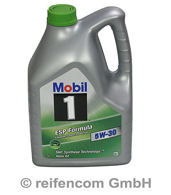 Motoröl Mobil 1 ESP Formula 5W-30 5 Liter 5L