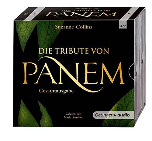 Die Tribute von Panem 1-3 Hörbuch-Gesamtausgabe (18 CD): Gekürzte Lesungen, ca. 1197 Min.
