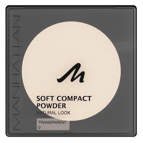 Manhattan Soft Compact Powder 0, transparent, 3er Pack