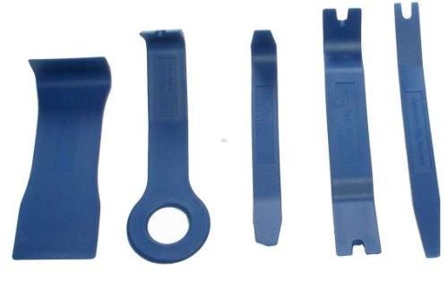 BGS Zierleistenkeile-Set, verschiedene Formen, 5-teilig, 3027