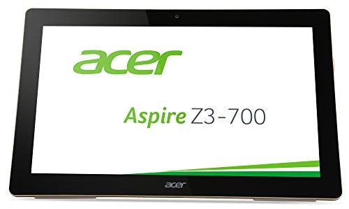 Acer Aspire Z3 (Z3-700) 43,94cm (17,3 Zoll Full HD) All-in-One Tablet-PC (Intel Celeron N3050, 2GB RAM, 32GB SSD, Intel HD Graphics, Win 10 Home) schwarz