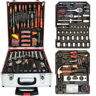 Werkzeugkoffer Werkzeugkasten Werkzeugkiste Profi Werkzeug Trolley Werkzeugset