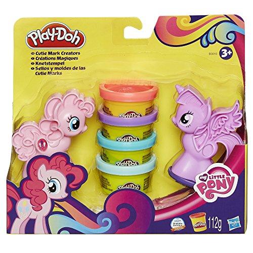 Hasbro Play-Doh B0010EU6 - My Little Pony Knetstempel, Knete