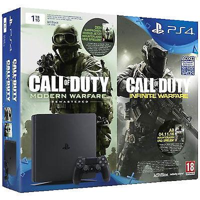 SONY PlayStation 4 1TB Slim + Code für Call Of Duty: Modern Warfare und Call Of