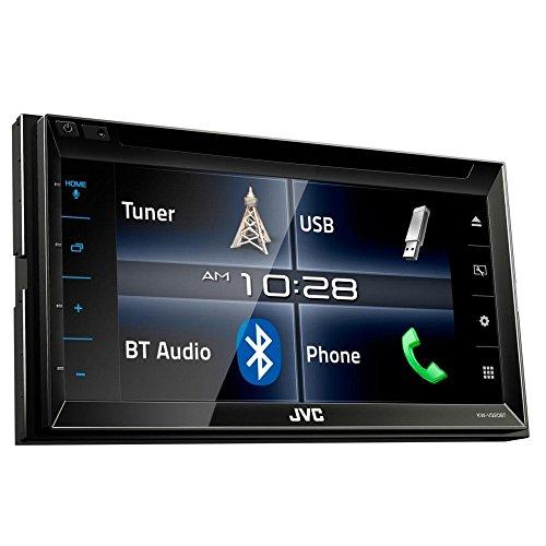 JVC KW-V320BT DVD/CD/USB-Receiver mit Bluetooth, schwarz