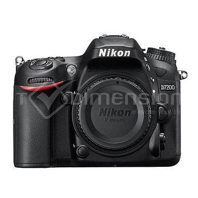 Nikon D7200 Body DSLR Camera Multi Language Gift Ship from UK X0303