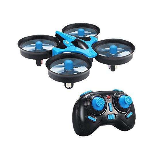JJRC H36 mini UFO Drohne 2.4G 4CH 6 Achse Headless Modus Fernbedienung RTF Mode 2 ohne live Kamera (Blau)