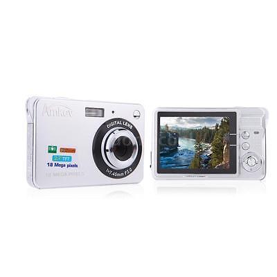 DigitalKamera Video Camcorder HD 18MP 8X Zoom Smile Capture Anti Shake Weiß 4N9W