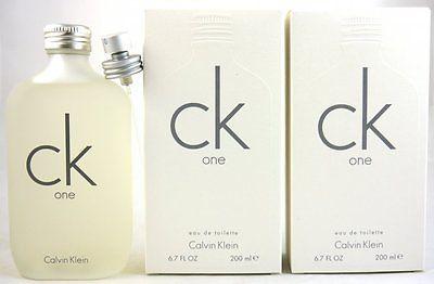 Calvin Klein CK One 2 x 200 ml Eau de Toilette EDT