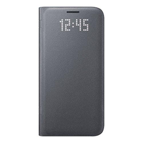 Samsung Original LED View Cover Hülle EF-NG935 für Galaxy S7 edge - Schwarz