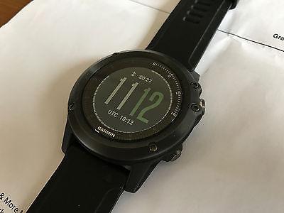 Garmin Fenix 3 Saphir HR Sportuhr Fitness GPS Herzfrequenz + Original Extra-Band