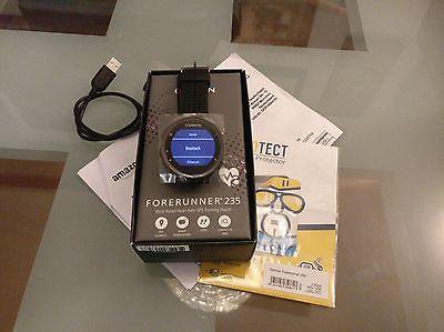 >>>>> (NEUW) GARMIN Forerunner 235 WHR, GPS-Smartwatch, Rot/Schwarz OVP  +Extras