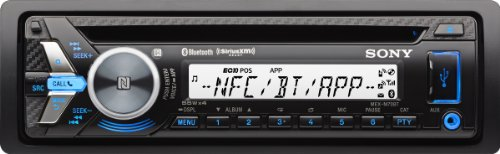 Sony MEX-M70BT Bluetooth Marine-Radio (NFC, USB, AUX-In, Apple iPod Control) schwarz