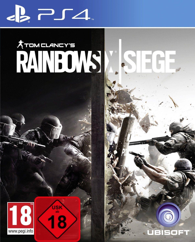 Tom Clancy's Rainbow Six Siege UNCUT Playstation 4 PS4 NEU OVP Deutsch