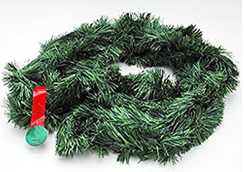 Deko-Girlande, Tannengrün, Weihnachtsgirlande, Tannengirlande, ca. 500 cm x 10 cm