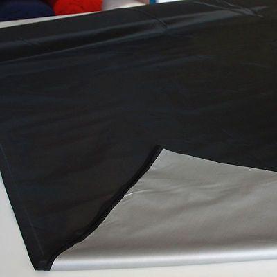 schwarz Deko-Stoff BLICKDICHT Verdunklung Vorhang Gardine Verdunklungs- Meterwar