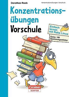 Einfach lernen mit Rabe Linus - Vorschule Konzentrationsübungen Dorothee Ra ...