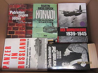 37 Bücher Dokumentationen 2. Weltkrieg NSDAP 3. Reich Nationalsozialismus