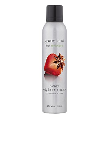 Greenland Body Lotion Mousse, strawberry-anise, 200 ml