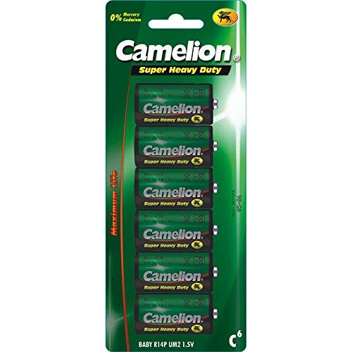 Camelion 10000614 Super heavy duty Batterien R14/ Baby/ 6er Pack