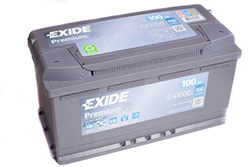Exide Premium Carbon Boost 100AH 900A/EN Autobatterie -Neues Modell 2014/2015-