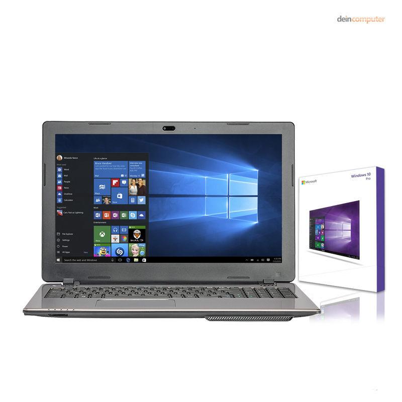 MEDION AKOYA Notebook - Intel 2,58 GHz - 500GB - 4GB - USB 3.0 - Windows 10 Pro