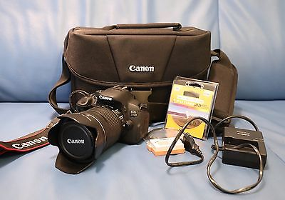 Canon EOS 700D 18.0MP SLR + EF-S 18-135mm in sehr gutem Zustand